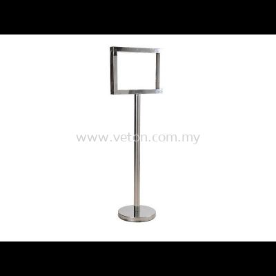 STAINLESS STEEL DISPLAY STAND