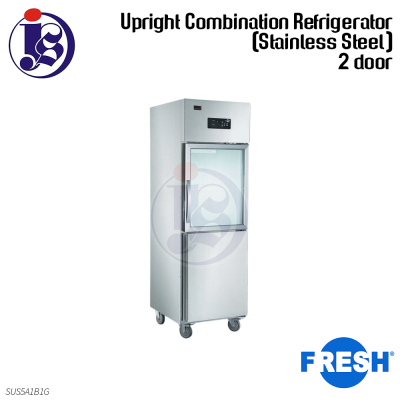FRESH 2 Door Refrigerator (Stainless Steel) SUS5A1B1G