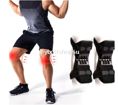 Knee Protection Booster Power Support Knee Pads Powerful Rebound Spring Force Sports