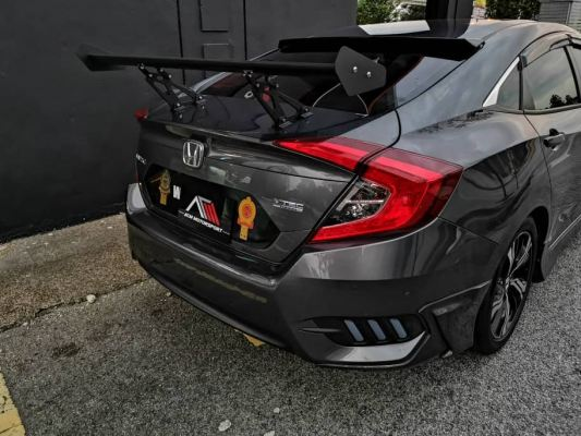 Civic fc custom gt wing