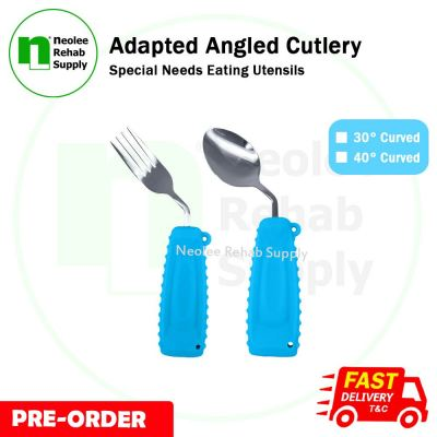 NL031FS - Adapted Angled Cutlery (Fork & Spoon)