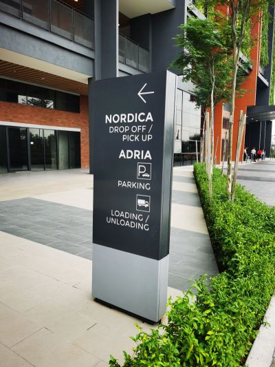 Nordica residents - Pylon Signage