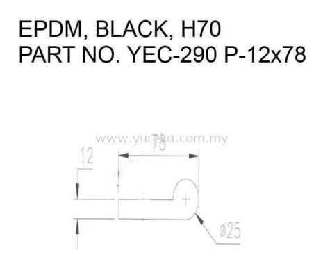 YEC-290 P12x78 EPDM