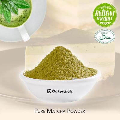 [Bakerchoiz] Pure Matcha Powder