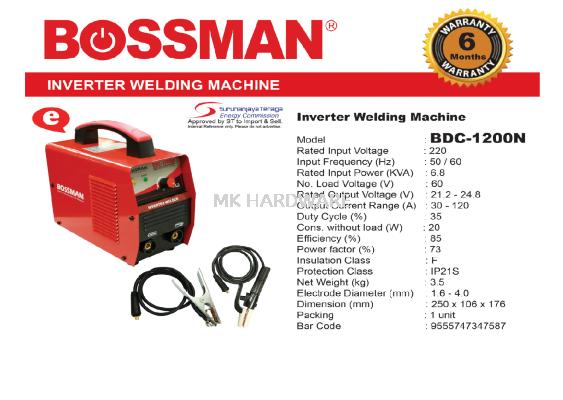 INVERTER WELDING MACHINE 1200