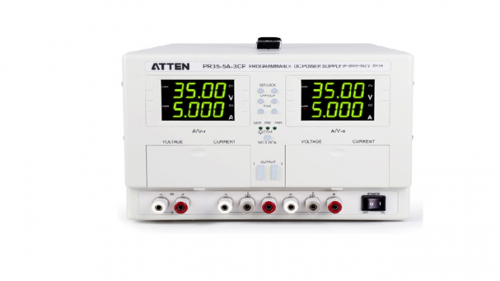ATTEN PR35-3A-3C 3A THREE CHANNELS LINEAR DC POWER SUPPLY