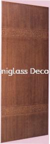 SBD FS 014 Sarawak Door Series (ASL) Door (Wooden)