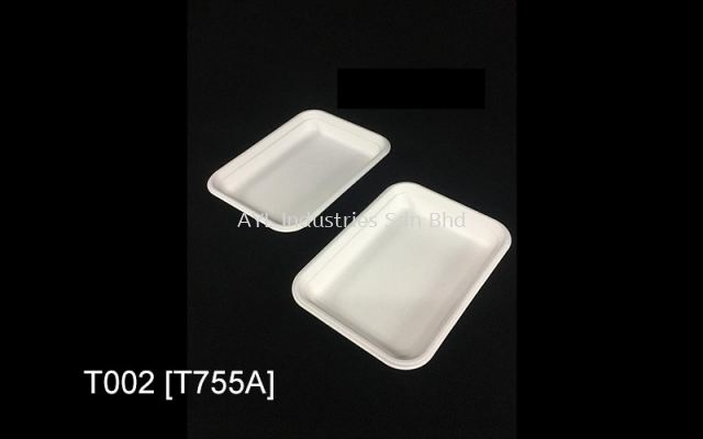 TAGE BAGASSE TRAY (T002) (T755A) (185X135X22)