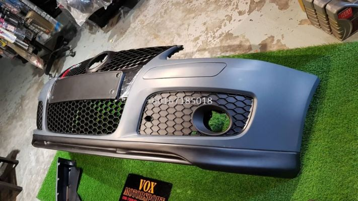 2005 2006 2007 2008 2009 volkswagen golf mk5 gti votex front lip diffuser for golf mk5 gti add on upgrade performance look pp abs material new set