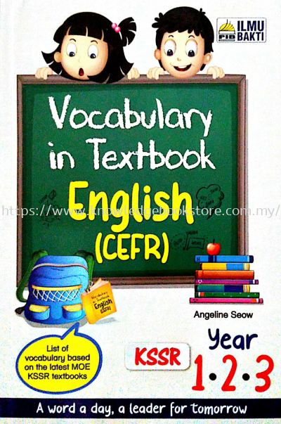VOCABULARY IN TEXTBOOK ENGLISH CEFR YEAR1.2.3