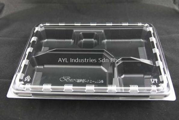 BENXON LUNCH BOX OPS PP (FC-1) (LIDS 275X220X10)(BASE 265X210X40)(400PCS)(8X50PCS)
