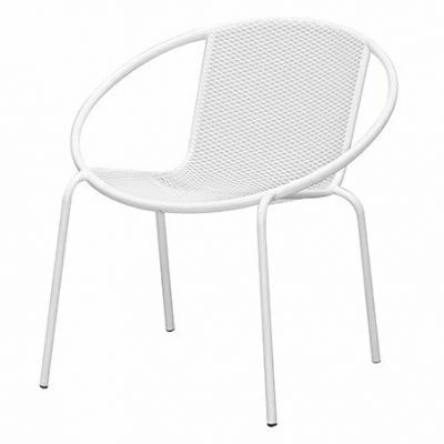 Outdoor Lounge Chair - Sandy White