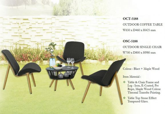 Outdoor Lounge Set (1+3)