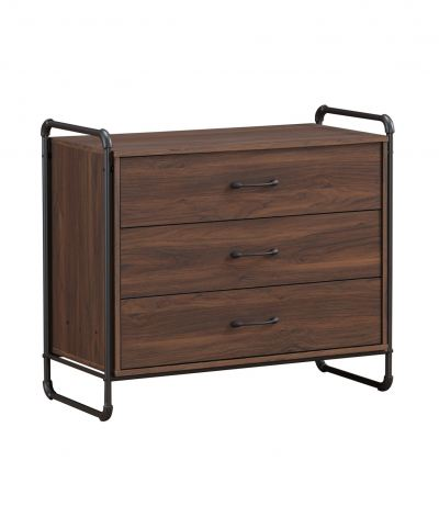 Design Series Chest Of Drawer - COLUMBIA DRESSER / 3 DRAWERS CHEST - COLUMBIA