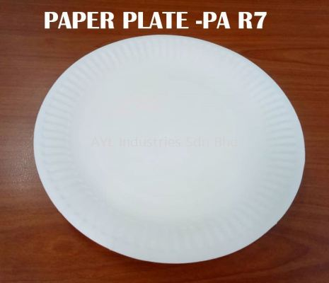 PAPER PLATE - PA R7