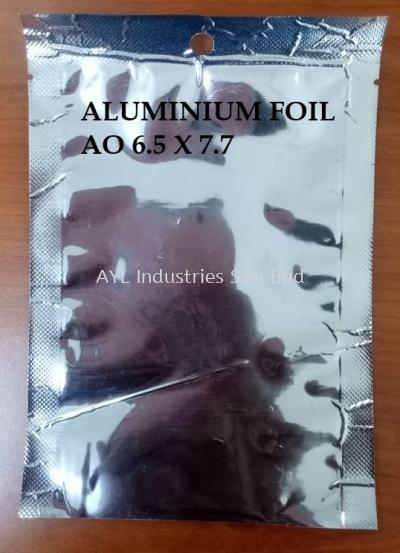 ALUMINIUM FOIL ZIPPER BAG AO 6.5X7.7