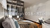 bedrooms 3D Drawing Interior & Exterior Design 三维绘画室内外设计图