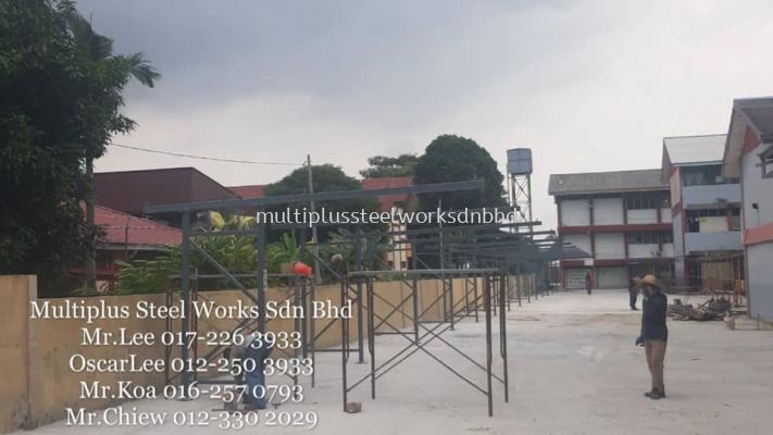 Steel Roofing Structure