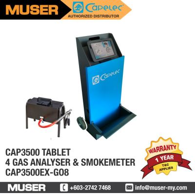 CAP3500 TABLET 4 Gas Analyser & Smokemeter