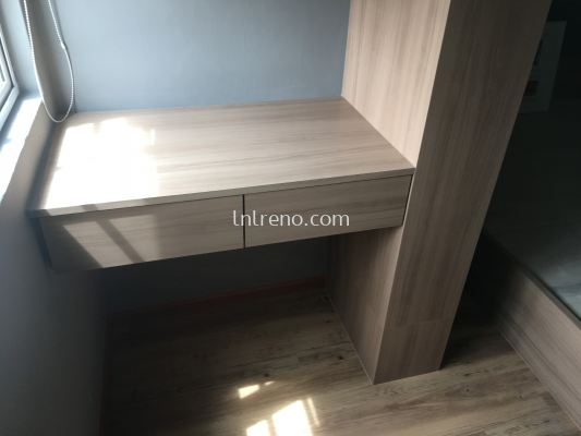Custom made wall hang desk in KL