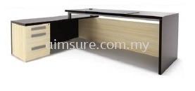 Hudson series L shape Director table AIM7HD 2(Back view)