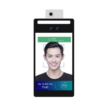 Facial Recognition with temperature sensor