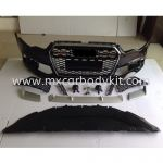 AUDI A6 C7 2012 RS LOOK FRONT BUMPER WITH GRILLE