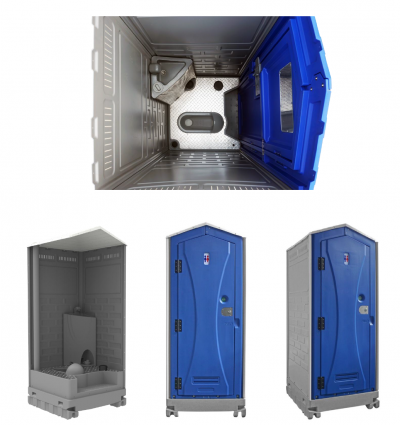 TOP-PLA CLOUD WAVE VIP SQUATTING TOILET WITH (FLUSHING & HANDWASH SYSTEM)