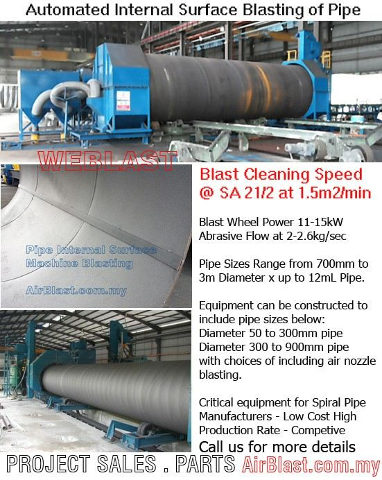 Large Spiral Pipe Manufacturing Plant EQUIPMENT SALES & RENTAL