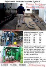 High Suction Capacity Industrial Vacuum System