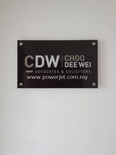 Acrylic Indoor Signage