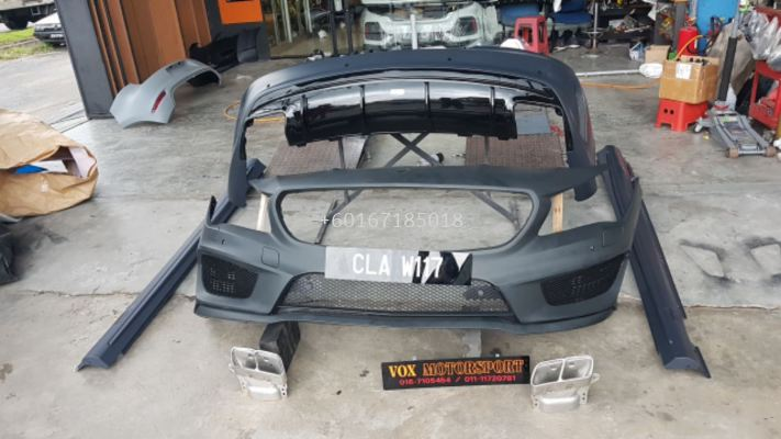 mercedes benz cla w117 bodykit a45 style for w117 upgrade replace performance look pp material brand new set