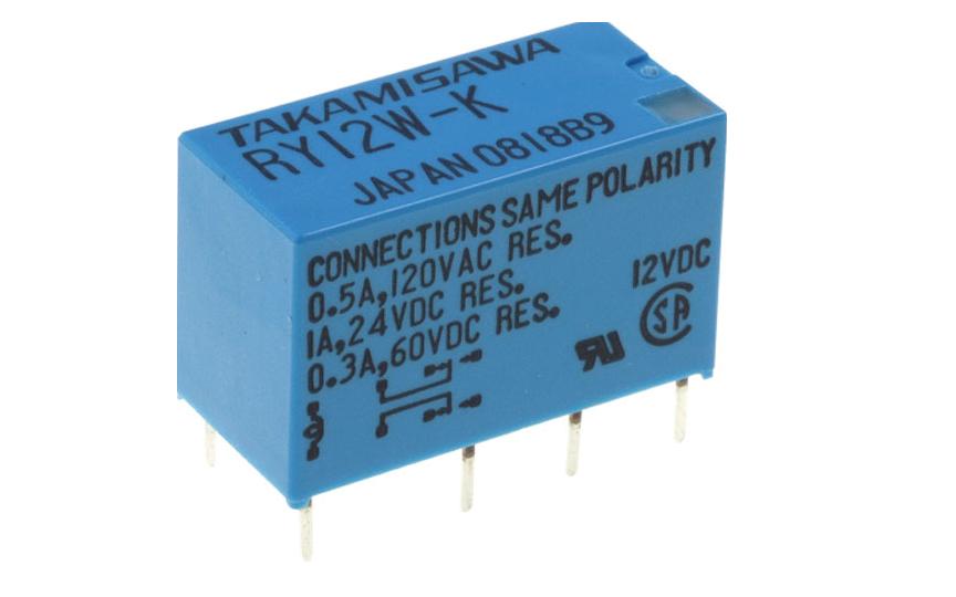 Omron Relay RY12W-K 12VDC