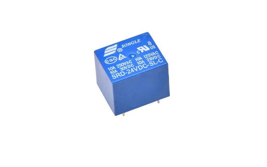 Omron Relay SRD 24VDC-SL-C