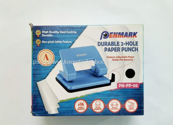PENMARK DURABLE 2-HOLE PAPER PUNCH