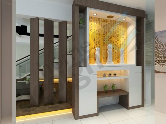 Custom Made Chinses Altar Cabinet  Sample Refer - Malaysia