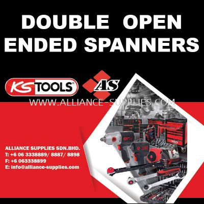 KS TOOLS Double Open Ended Spannerd