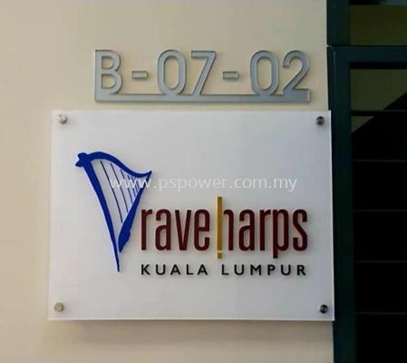 3D Acrylic Signage @ Empire Soho Subang