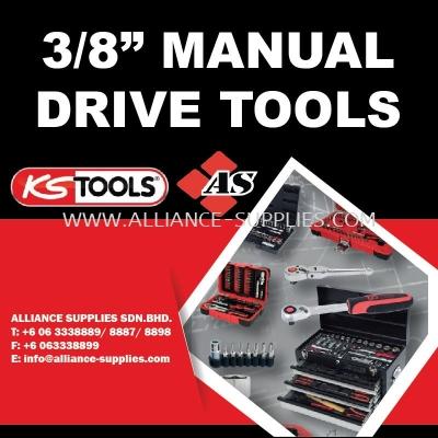 """KS TOOLS 3/8"""" Manual Drive Tools"""