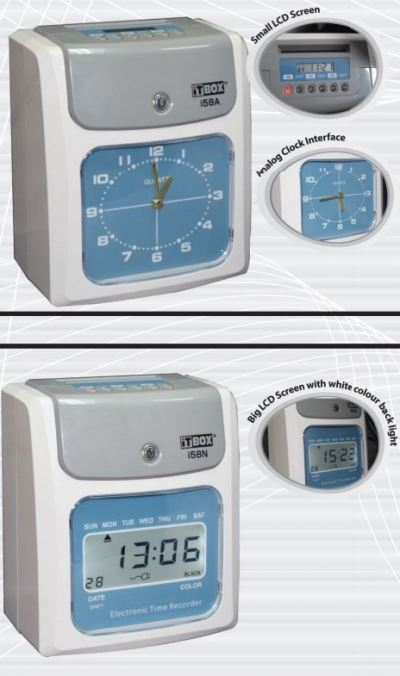 ELECTRONIC TIME RECORDER MODEL (i58A)