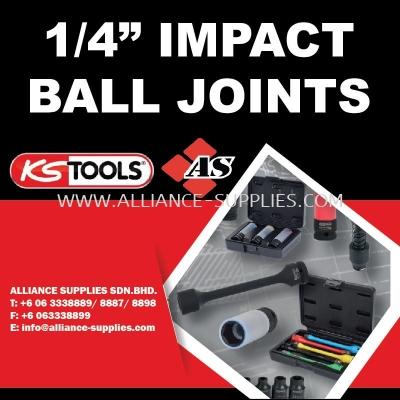 "KS TOOLS 1/4"" Impact Ball Joints"