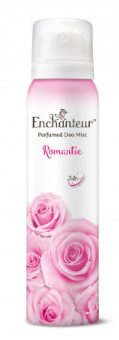 Enchanteur Body Mist 75ml Romantic