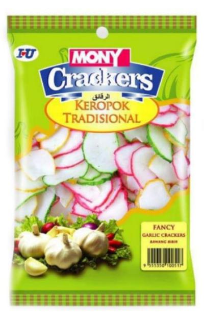 Mony Crackers 200g Bawang Bibir