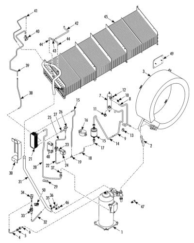 Refrigeration Components (Service Valves) (189D5)