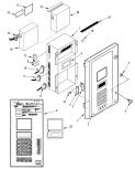 Control Box Door (MP3000-A w RMM) (183B5)