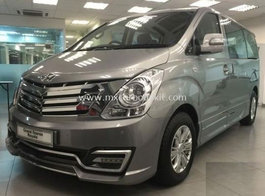 HYUNDAI STAREX 2016 FACELIFT TURBO VERSION BODYKIT