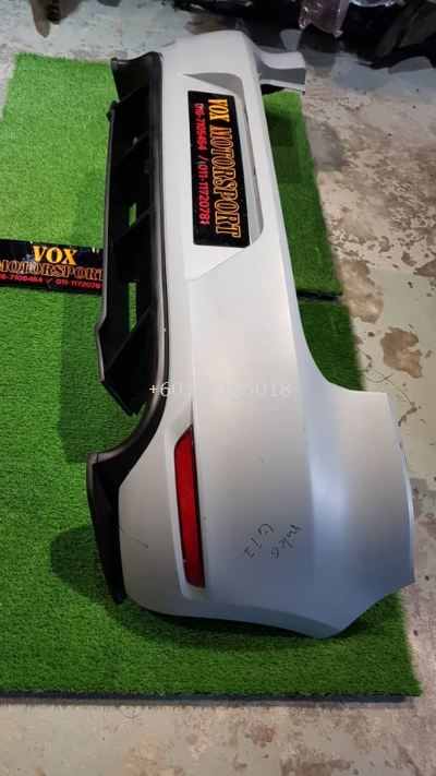 volkswagen golf mk6 gti revozport rear bumper with diffuser for mk6 tsi replace upgrade performance look pp frp material brand new set