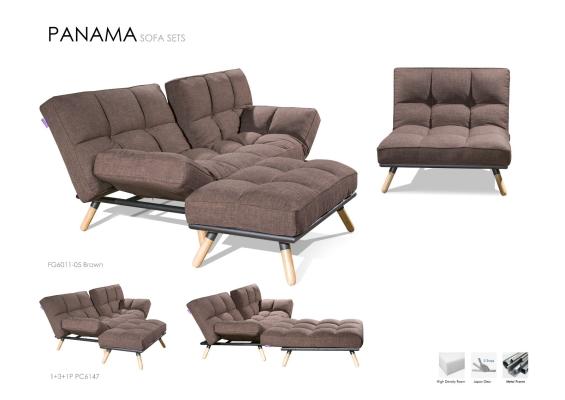 Metal Body frame Sofabed - PANAMA (Full set)