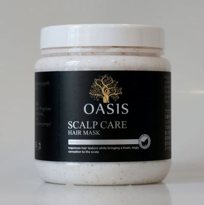 Scalp Care Hair Mask with Microbeads
