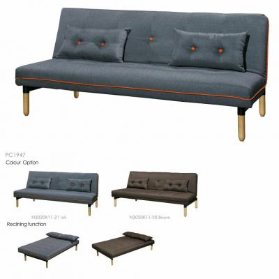 Metal Body Sofabed 3 Seaters - OSLO